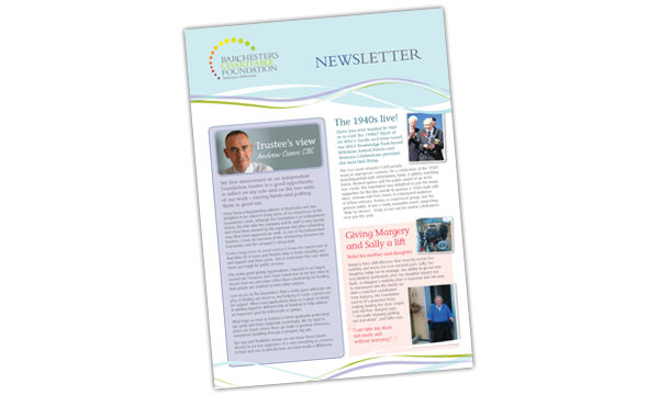 Download the annual Barchester Charitable Foundation newsletter.