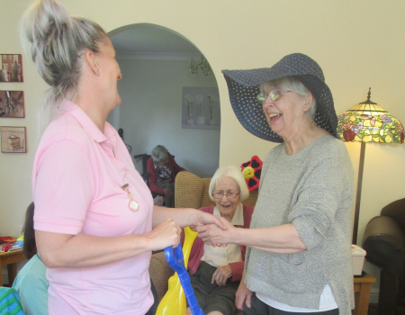 Activities Hilderstone Hall Care Home Barchester