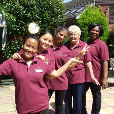Ashcombe House Care Home in Basingstoke