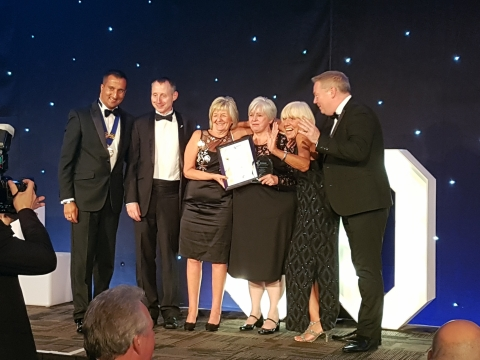 Joy Whitlock wins Care Catering Award