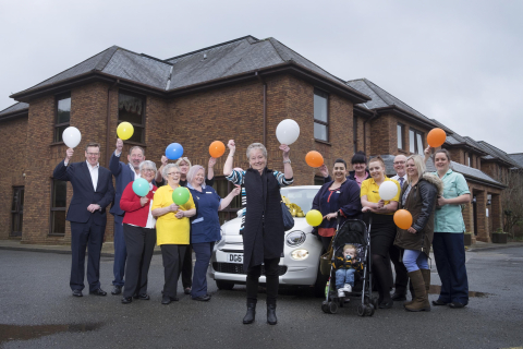 Barchester Healthcare Carer Presented wtih Brand New Car