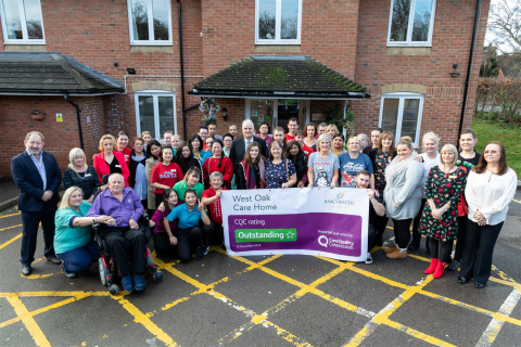 'Outstanding' Result For Barchester's West Oak Care Home