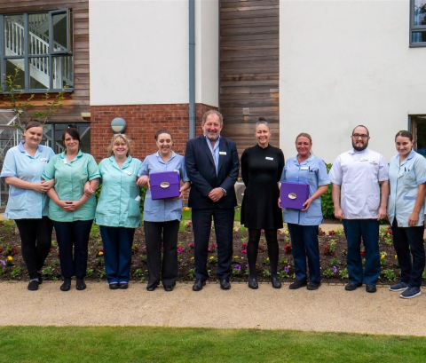 Barchester Healthcare Honours Carers for National Carers Week
