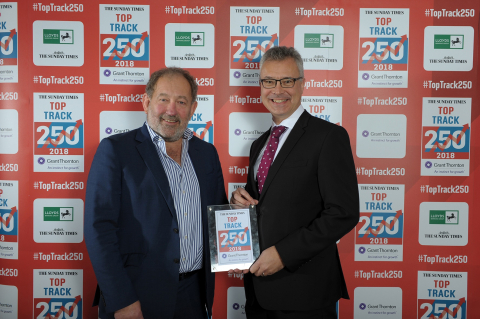 Barchester Healthcare Celebrates High Rank in 14th Annual Sunday Times Grant Thornton Top Track 250