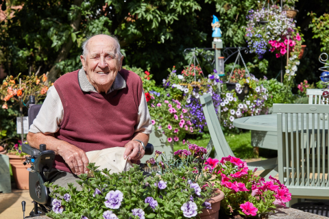 91 Year Old Resident Wins Award for Dedication To Community Garden In National Gardening Week