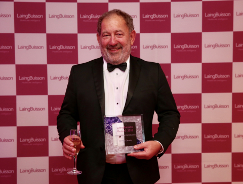 CEO of Barchester Healthcare Dr Pete Calveley Presented With Laing Buisson Award for his Outstanding Contributions to Care