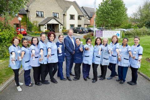 Barchester Healthcare Honour Nurses on International Nurses' Day