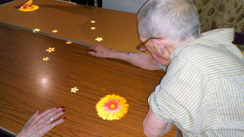 Care Home Adds To Their Dementia Care Services with New Interactive Magic Table