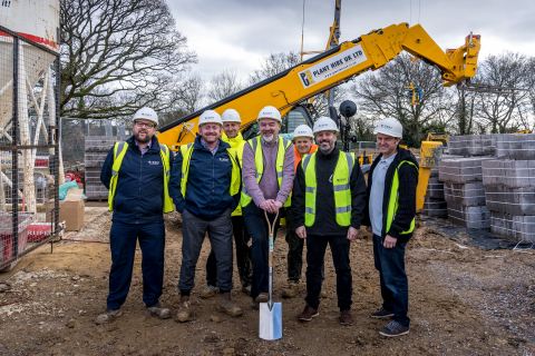 New Barchester Care Home Breaks Ground in Denmead