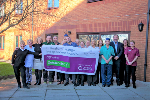 'Outstanding' Result For Barchester's Billingham Grange Independent Hospital