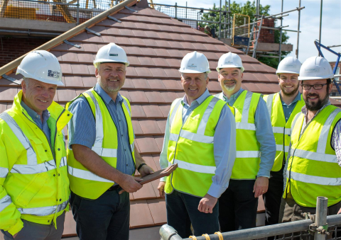 Barchester Healthcare's Newest Home in Sherborne Reaches Topping Out Stage