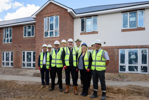 Barchester Healthcare's Newest Care Home in Solihull Reaches Topping Out Stage