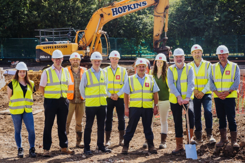 New Care Home Breaks Ground in Wallingford