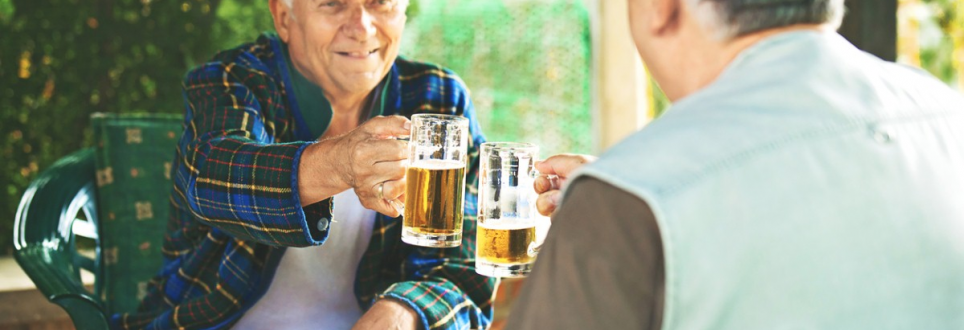 Moderate alcohol consumption could be key to living beyond 90