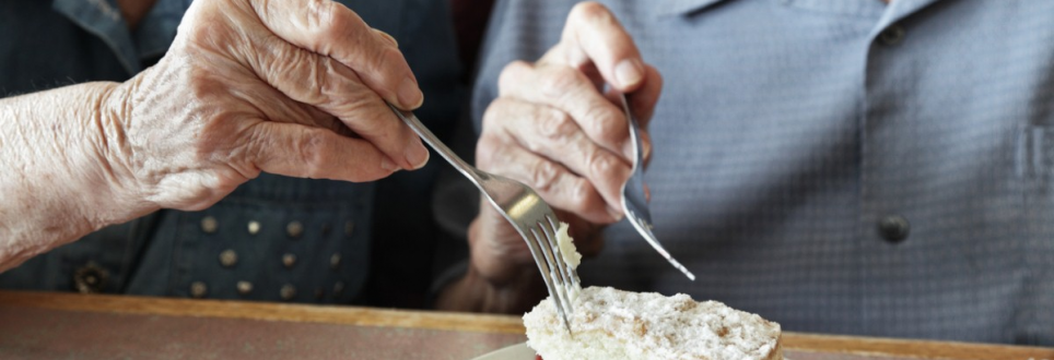 Pensioners encouraged to eat cake and fried food
