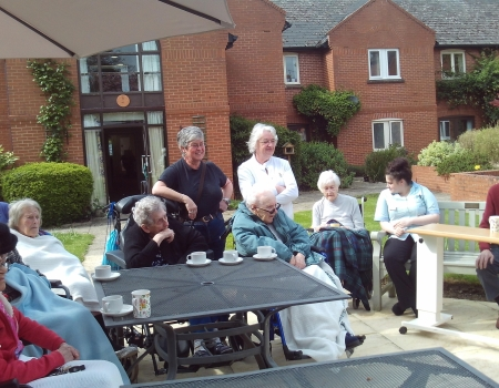Activities Badgeworth Court Care Centre Barchester