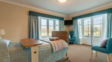 Memory Lane bedroom at Chacombe Park