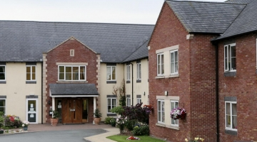 Care homes in Powys