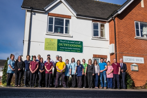 'Outstanding' result for Barchester's Lucerne House Care Home