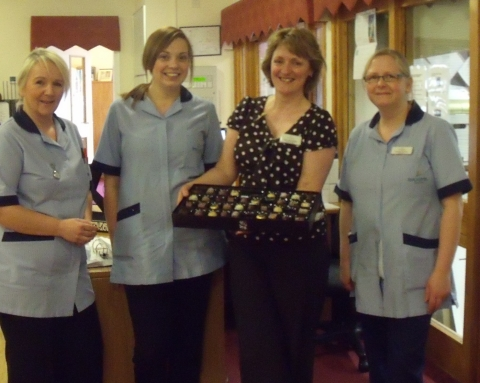 A chocolate day... in support of International Nurses' Day
