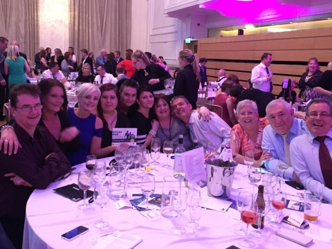 Drummond Grange at the awards