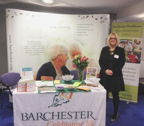 Barchester makes a stand at Florence Nightingale Foundation conference