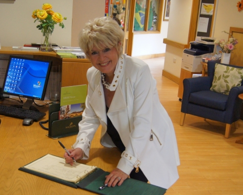 Glorious National Care Home Open Day with Gloria Hunniford