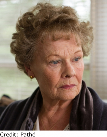 Judi Dench - Philomena. Credit - Pathe
