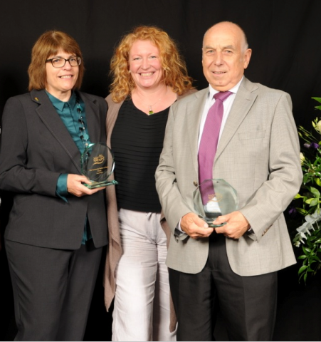 Charlie Dimmock unearths great care home gardeners