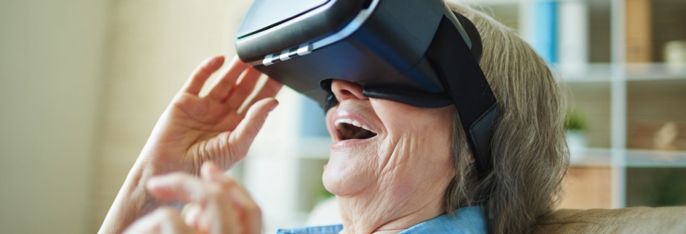 Virtual reality offers respite for bedridden people