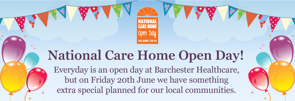 Barchester Healthcare takes part in National Care Home Open Day celebrations