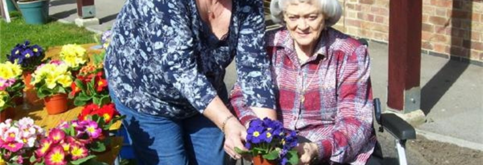 Mothers take to the garden at Chorleywood Beaumont