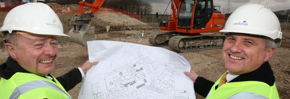Construction underway for sister care homes