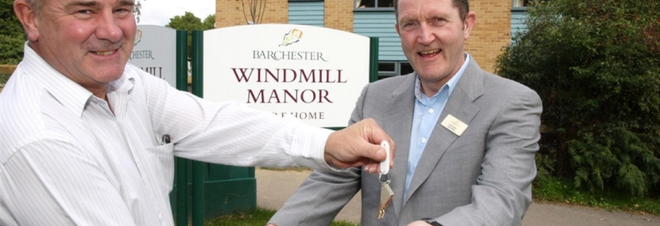 Barchester holds the key to future care at Windmill Manor
