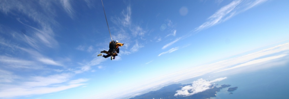 Friends take to the skies in aid of MS charity