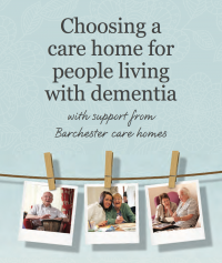 Choosing a dementia care home