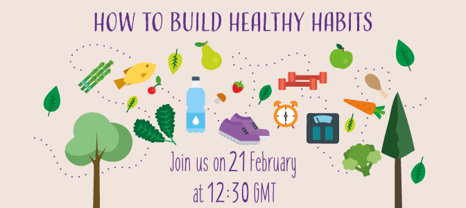 How to build healthy habits