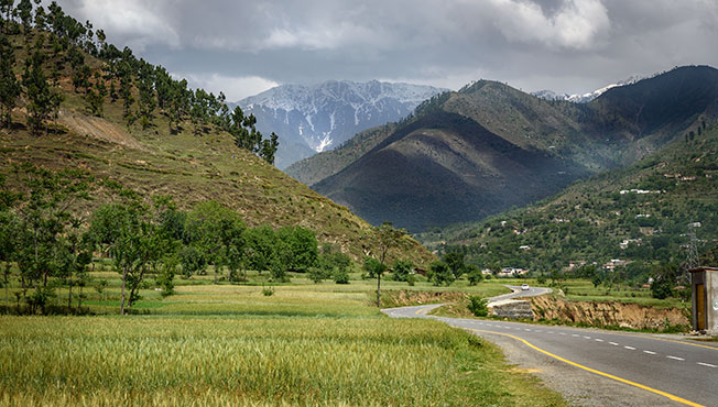 Landscape of Swat Pakistan