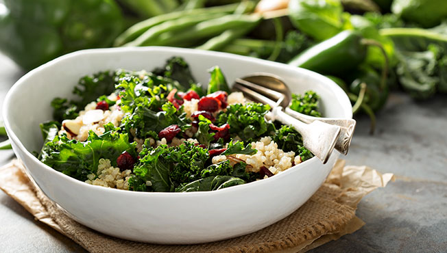 Quinoa vegetable mix
