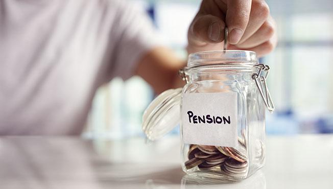 Pension savings