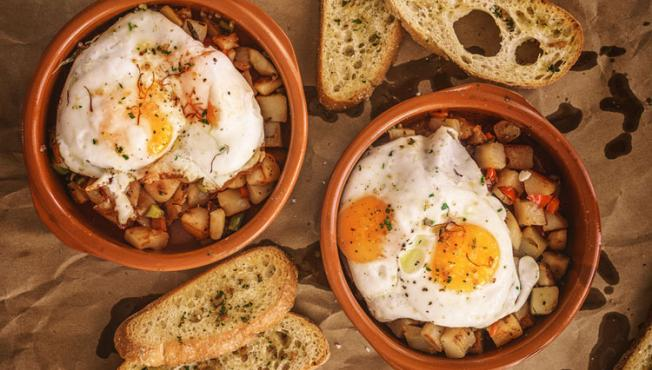 Vegetarian Recipes - Eggs and Chips