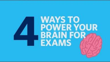4 ways to power your brain for exams