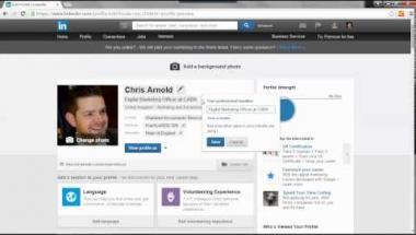 Using LinkedIn to help your job search or further your career webinar
