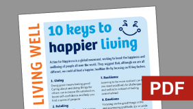 Living well newsletter issue 5
