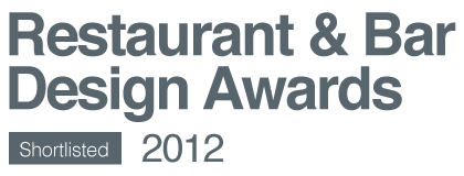Shortlisted Restaurant & Bar Design Awards 2012