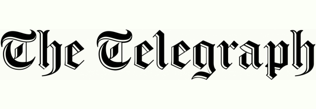 The Telegraph logo on the Concorde BGW website