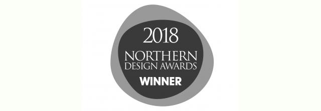 Northern Design Awards Winner Logo 2018