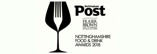 The Nottinghamshire Food & Drink Awards 2018