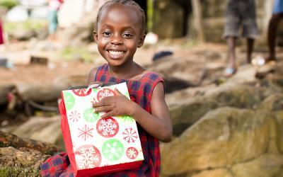 Making charitable donations at Christmas