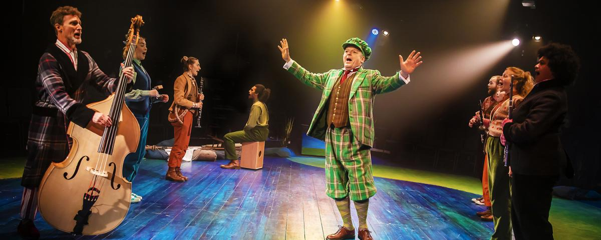 The Wind in the Willows cast in production 1